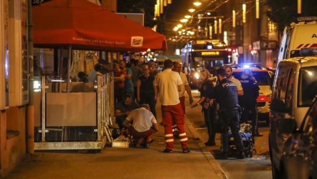 Am 4. Juni wurde in der Ignaz-Harrer-Straße ein Bosnier erschossen. (Bild: Tschepp Markus)