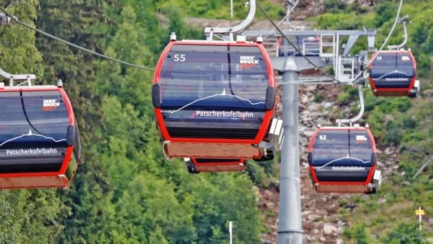 Die Patscherkofelbahn: Kosten völlig aus dem Ruder gelaufen (Bild: Christof Birbaumer)