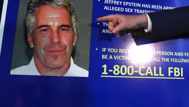Staatsanwalt Geoffrey Berman gab die Anschuldigungen gegen Jeffrey Epstein bekannt. (Bild: AFP)