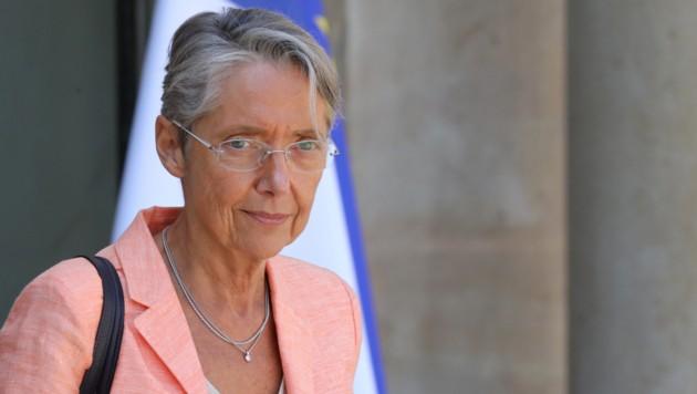 Frankreichs Verkehrsministerin Elisabeth Borne (Bild: APA/AFP/ludovic MARIN)