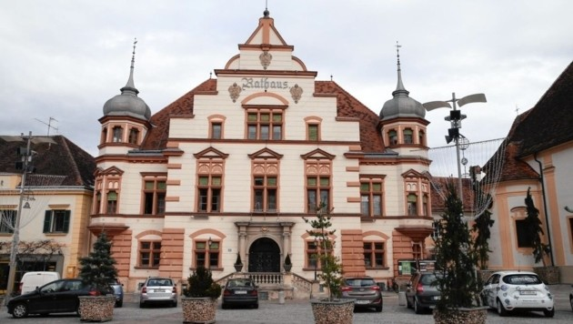 Das Hartberger Rathaus (Bild: Jürgen Radspieler)