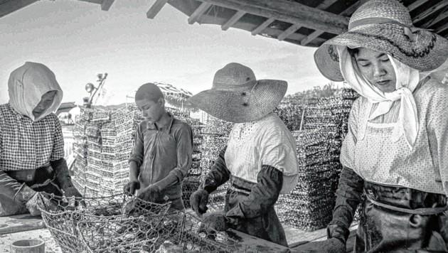 """""""Life in Japan"""", die Foto-Reportage von Gerti Deutsch aus dem Jahr 1960: Mühsal des Alltags (Bild: Gerti Deutsch)"""