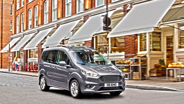 Ford Tourneo Courier (Bild: mmotors.at)