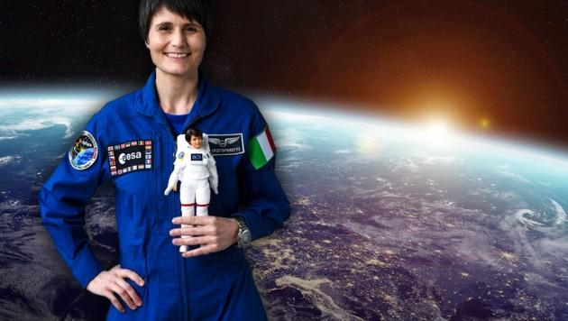 (Bild: ESA/Mattel, stock.adobe.com, krone.at-Grafik)