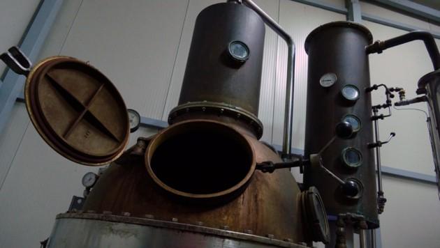 Der Destillator der Rossis (Bild: Stephan Schätzl)