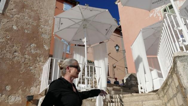 Valentino in Rovinj - Besitzerin Patrizia begrüßt hier auch oft Celebrities (Bild: Stephan Schätzl)