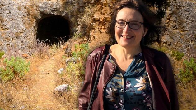 Das Höhlensystem, in dem Suzanne Eatons Leiche gefunden wurde, diente im Zweiten Weltkrieg als Bunker bzw. Munitionsdepot der Wehrmacht. (Bild: AP, wikipedia.org, krone.at-Grafik)