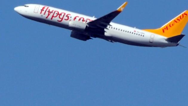 Eine Boeing 737 der türkischen Billigfluglinie Pegasus (Bild: AFP)