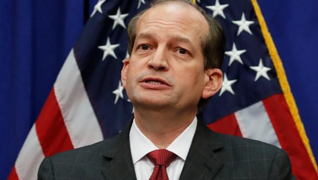 US-Arbeitsminister Alexander Acosta (Bild: The Associated Press)
