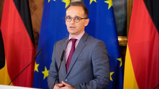 Deutschlands Außenminister Heiko Maas (Bild: APA/AFP/dpa/Christian Charisius)