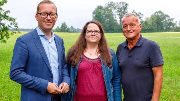 Djundja, Höpflinger, Standl (Bild: Bernhard Rieger)