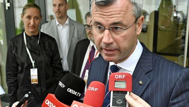 FPÖ-Chef Norbert Hofer (Bild: APA/HANS PUNZ)