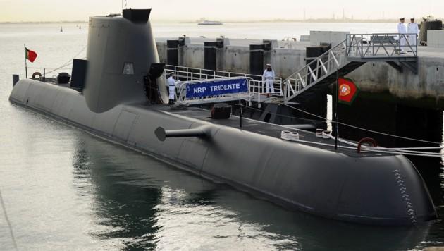 Ein U-Boot der Klasse 214 (Bild: Wikipedia/PEDRO VILELA (CC BY 2.0))