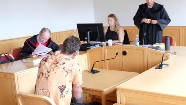 Der Angeklagte war voll geständig (Bild: Einöder Horst)