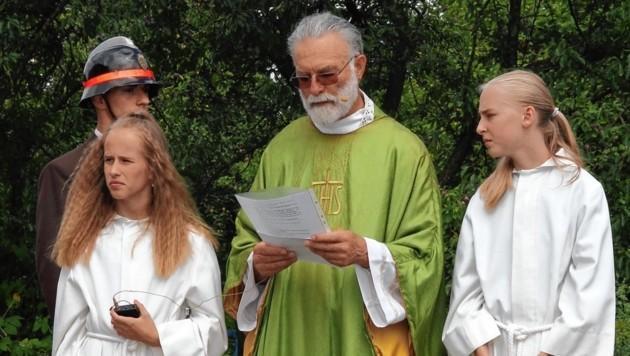 Der verstorbene Pfarrer Siegfried Gödl (Bild: Josef Fürbass)