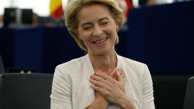 Ursula von der Leyen (Bild: The Associated Press)
