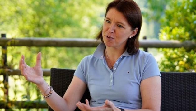 Michaela Langer-Weninger, Präsidentin der Landwirtschaftskammer OÖ (Bild: gewefoto - Gerhard Wenzel)