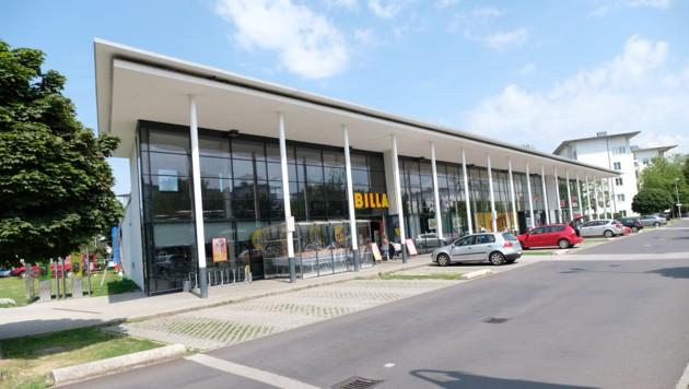 Der Billa in Linz-Ebelsberg. (Bild: Horst Einöder)