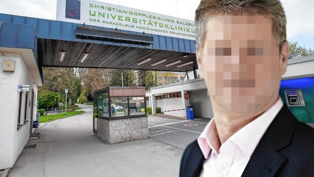 Der Gemeindepolitiker verließ die Nervenklinik vor wenigen Tagen. (Bild: Markus Tschepp, krone.at-Grafik)