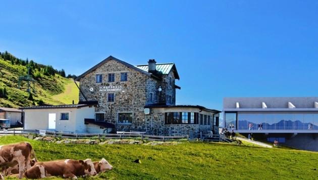 Das Patscherkofel Schutzhaus des Alpenvereins stammt aus dem Jahr 1925 (Bild: Bild ohne Text)