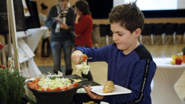 Wien und Graz sind für die Stadt Salzburg beim Essen an Schulen und Kindergärten die Vorbilder. (Bild: Votava)