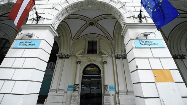 Die ÖVP-Zentrale in der Wiener Lichtenfelsgasse (Bild: APA/Robert Jäger)