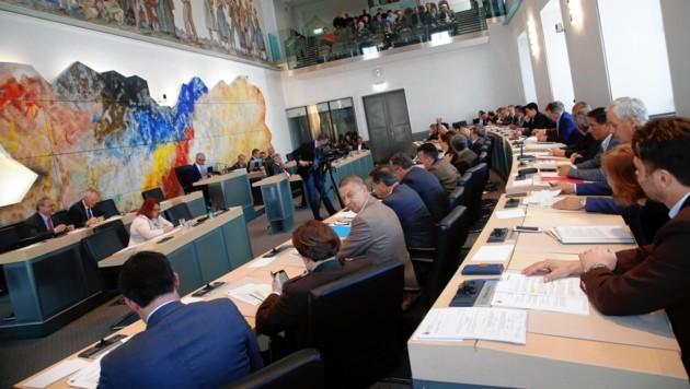 Der Landtag hatte die Kontrolle veranlasst. (Bild: Uta Rojsek-Wiedergut)