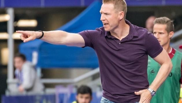 Robert Ibertsberger will bald wieder als Trainer Kommandos geben. (Bild: EXPA)