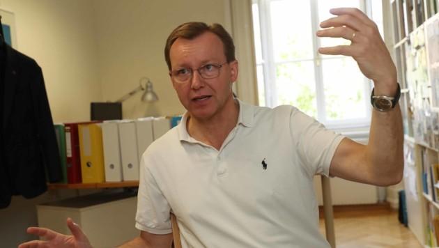 Klimaforscher Gottfried Kirchengast (Bild: Juergen RadspielerJürgen Radspieler)