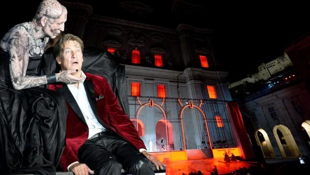 """Salzburger Festspiele 2019 mit dem """"Jedermann"""" (Bild: APA/BARBARA GINDL)"""