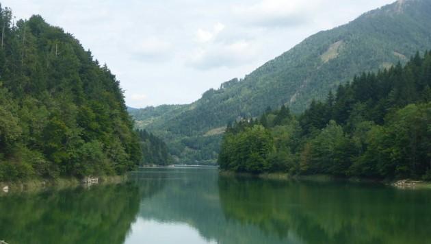 Wiestalstausee im Tennengau (Bild: Wikimedia)