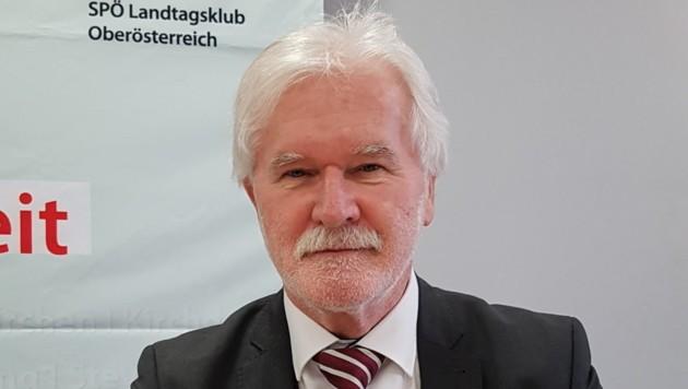 Bürgermeister Franz Allerstorfer geriet ins Visier (Bild: Werner Pöchinger)