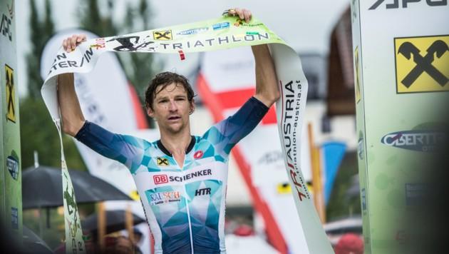 Andreas Giglmayr will beim Heimrennen in Obertrum erneut jubeln. (Bild: Trumer Triathlon)