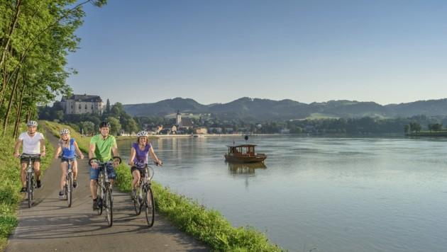 Mit dem Rad zu verreisen, ist ungebrochen beliebt. (Bild: WGD Donau Oberösterreich Tourismus/Hochhauser)