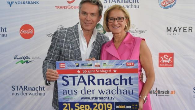 Alfons Haider und Johanna Mikl-Leitner freuen sich schon! (Bild: NLK Pfeiffer)