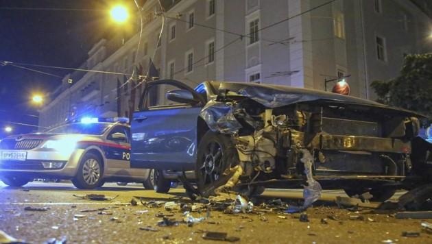 Bei einem offenkundig illegalen Autorennen wurde Samstag eine Deutsche schwer verletzt (Bild: Tschepp Markus)