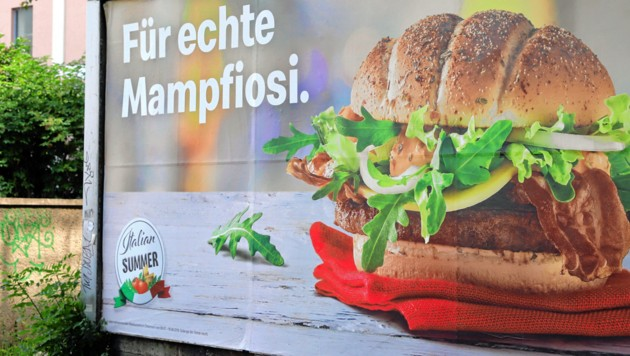 """""""Mampfiosi""""-Kampagne: McDonald's sagt """"Scusi"""""""
