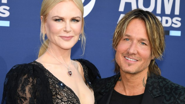 Nicole Kidman und Keith Urban (Bild: AFP)