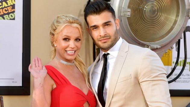 Britney Spears und Sam Asghari (Bild: 2019 Getty Images)