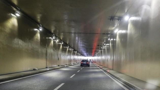 Die Flughafen-Unterführung gilt in der Stadt als Hotspot der illegalen Raserszene. (Bild: MARKUS TSCHEPP)