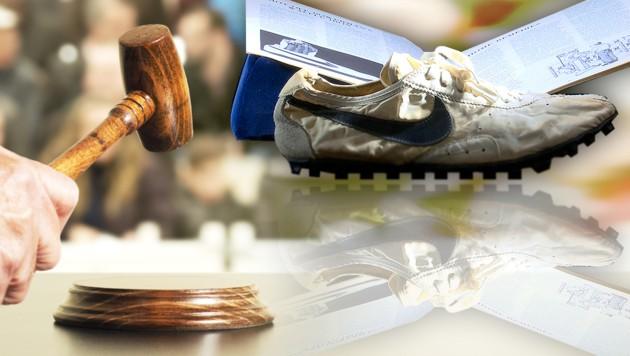 fedfa95d27536 Sammler ersteigert Sportschuhe um 437.000 Dollar | krone.at