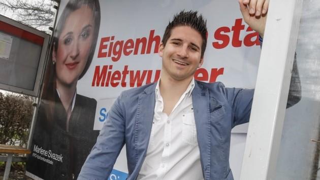 Oliver Mitterlechner will nun eine eigene Partei gründen. (Bild: Tschepp Markus)