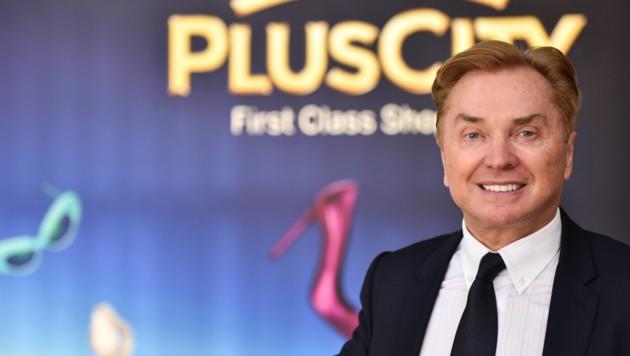 Ernst Kirchmayr, Eigentümer der PlusCity in Pasching und Chef der LentiaCity in Linz-Urfahr. (Bild: Markus Wenzel)