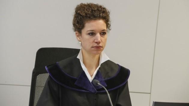 Richterin Anna-Sophia Geisselhofer leitete den Prozess. (Bild: Tschepp Markus)