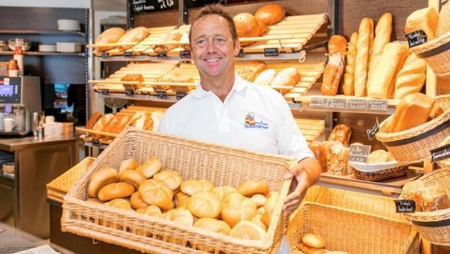 Bäckerei Holztrattner, Rudolf Holztrattner, Kellau 192, Kuchl, Salzburg, © www.wildbild.at (Bild: © www.wildbild.at)