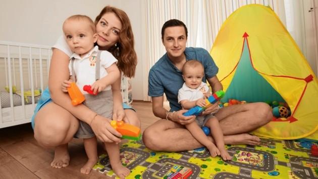Die Familie kann endlich wieder in Frieden leben. (Bild: © Elmar Gubisch)