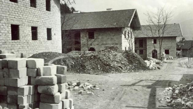 33 Häuser entstanden in Telfs mit 150 Wohnungen. (Bild: Sammlung Stefan Dietrich)
