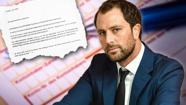 Die Mails, die Georg Dornauer zugespielt wurden, liegen nun bei der Korruptions-Staatswanwaltschaft. (Bild: twitter.com, APA, stock.adobe.com, krone.at-Grafik)