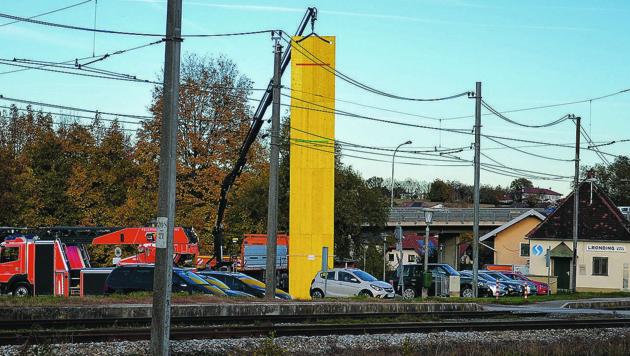 Auch über die Höhe der Lärmschutzmauer sind sich Stadt und ÖBB nicht einig. (Bild: ZVG)