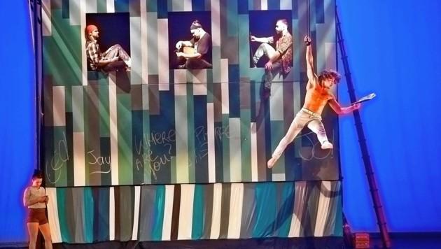 Eröffnung von La Strada 2019 in der Grazer Oper mit der kanadischen Truppe Flip Fabrique (Bild: Atelier Heide/fotonestroy.com)